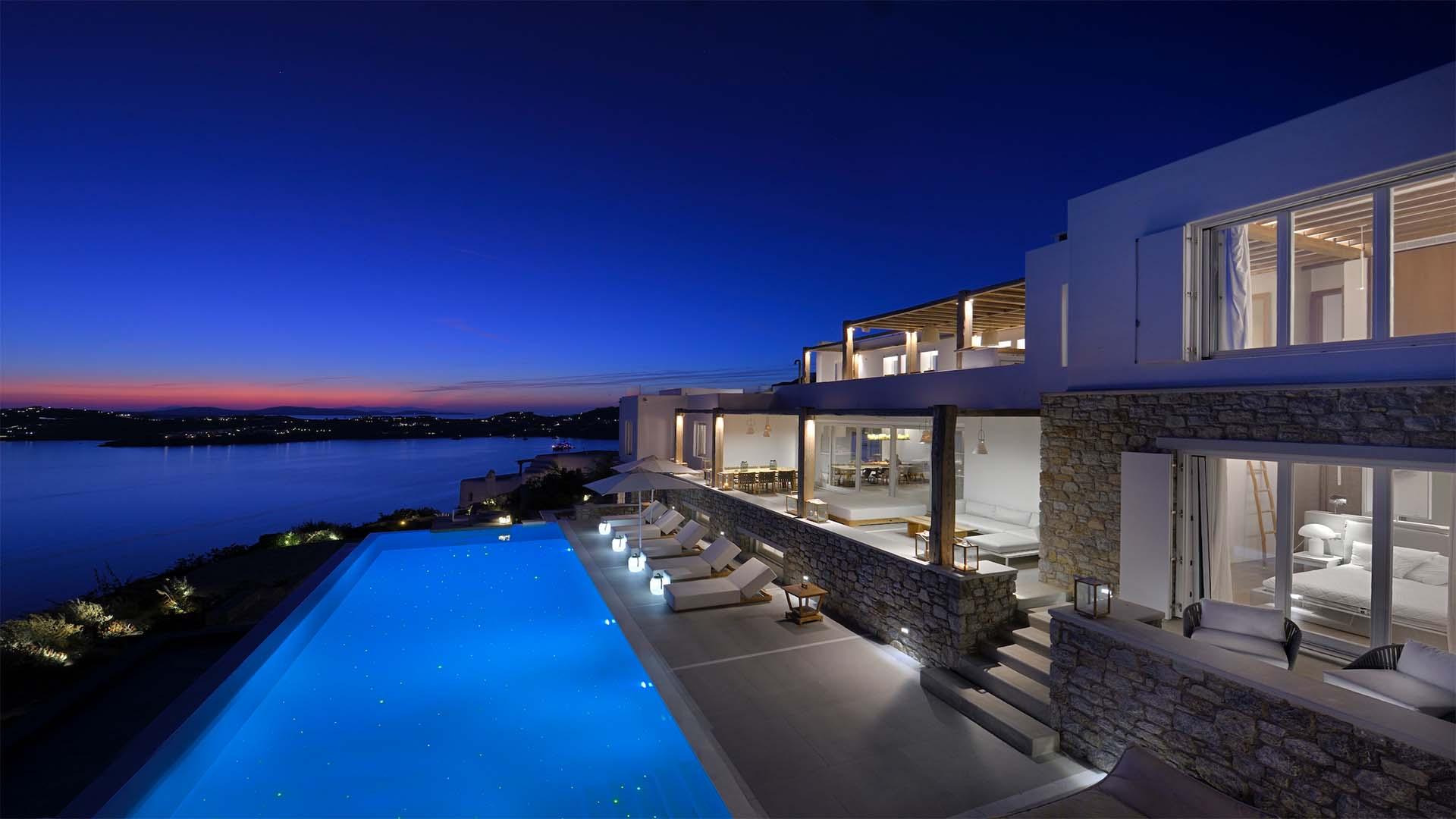 Villa Bleu Blanc